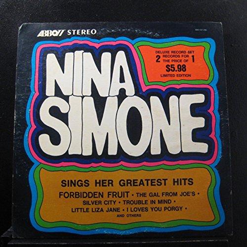 Nina Simone - Sings Her Greatest hits - Lp Vinyl Record (Best Nina Simone Record)