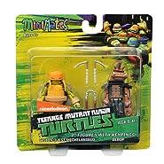 Teenage Mutant Ninja Turtles Minimates w/Keyrings - Vision Quest Michelangelo & Bebop
