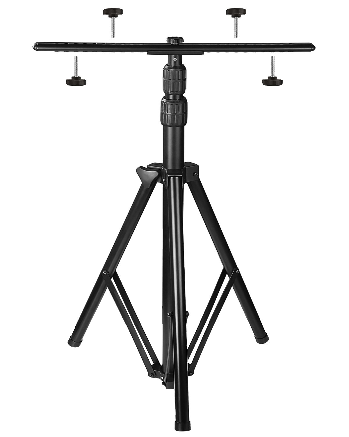 [Upgraded] Adjustable Tripod Stand for LED Work Light - Corrosion Resistant LED Flood Light Tripod Stand- Steel Telescoping for Auto, Home, Work, Job, Construction, Camping, Indoor and Outdoor Use