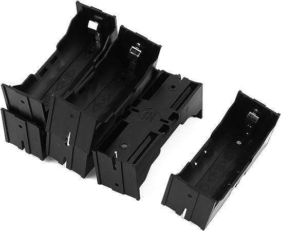 sourcingmap® 6pcs de plástico Soporte batería 26650 Único caja ...