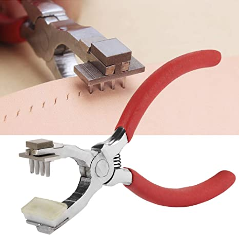 Flat Leather hole puncher,leather tool 4mm-35mm punch for leather,Belt Hole Punch Steel 3mm-6mm width