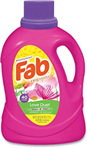 FAB Scented Laundry Detergent, Love Duet, 60 oz Bottle, 6/Carton (PBCFABBB33)