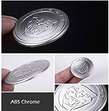 ABS Chrome Car Gear Shift Knob Cover Decoration