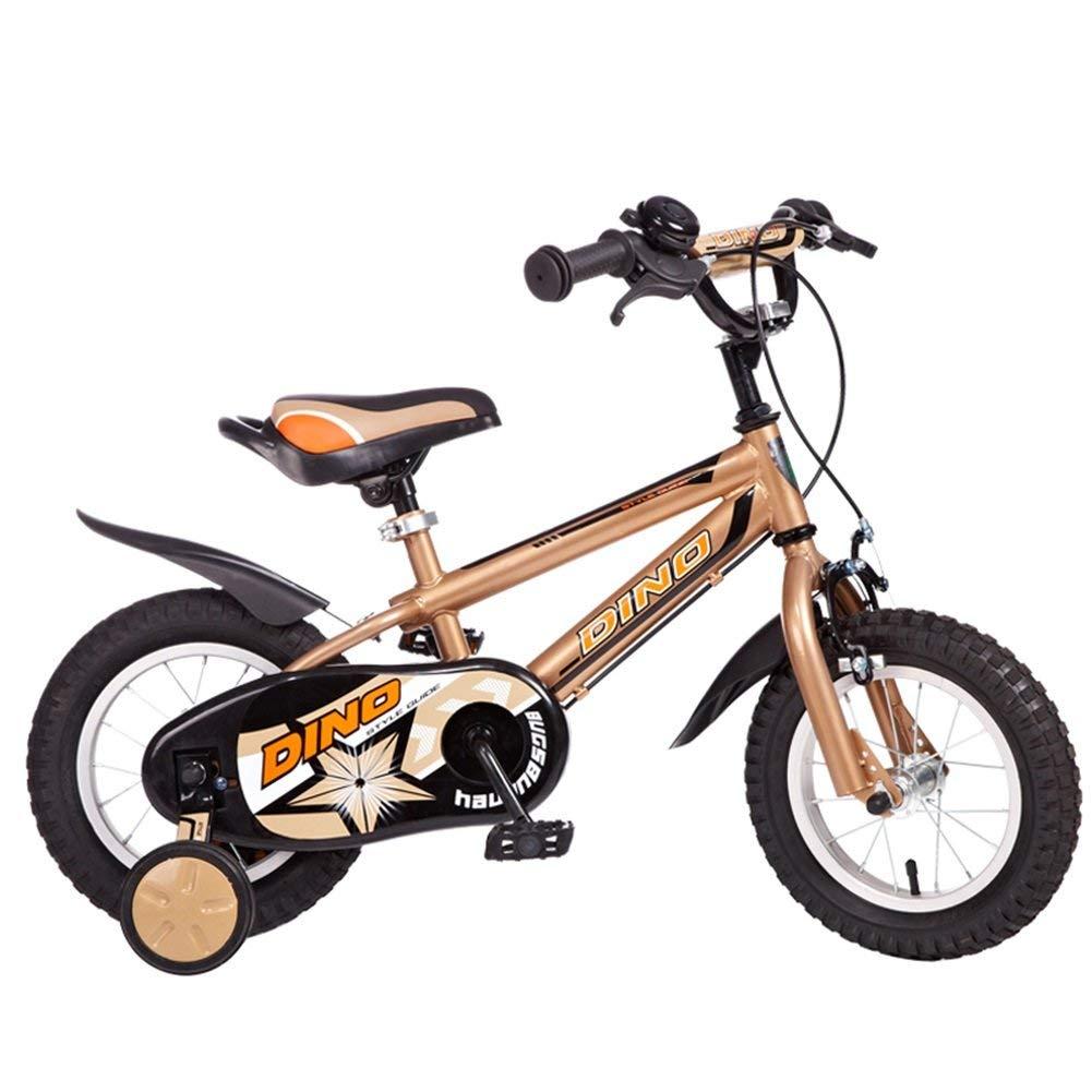 ファッション子供用自転車 - 子供用自転車ベビー用自転車2-4-6歳の自転車12/14/16インチの男の子用ベビーカー 12-inch Yeow B07RRM5YND