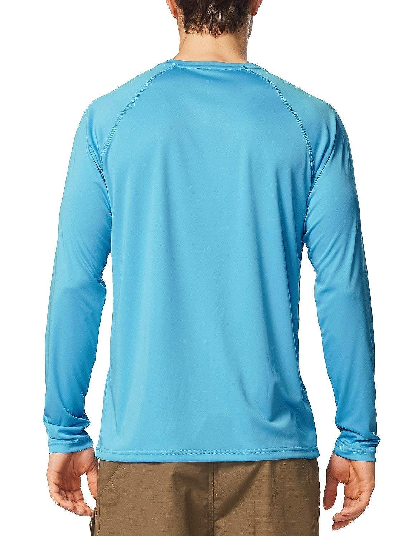 a1a0f9c2eabaf Baleaf Men s UPF 50+ UV Sun Protection Outdoor Running Performance T-Shirt  at Amazon Men s Clothing store