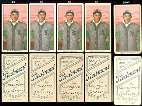 1909 T206 Tobacco Baseball Card 353 Frank Oberlin Of The