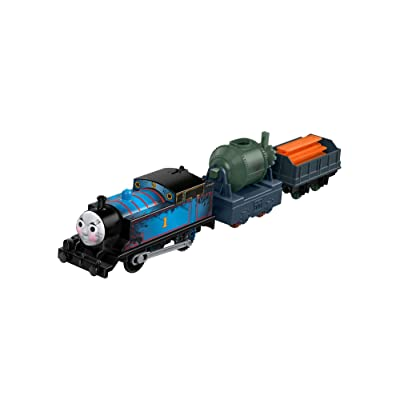 Fisher-Price Thomas & Friends TrackMaster, Motorized Railway Steelworks Thomas Train: Toys & Games