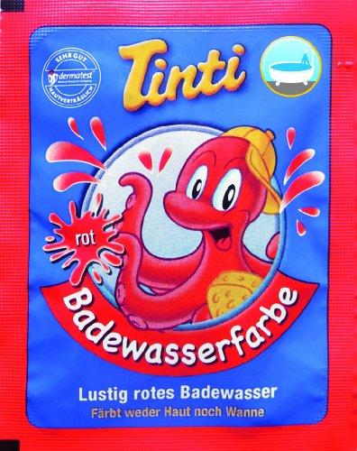 Tinti Badewasserfarbe rot 1 Stück