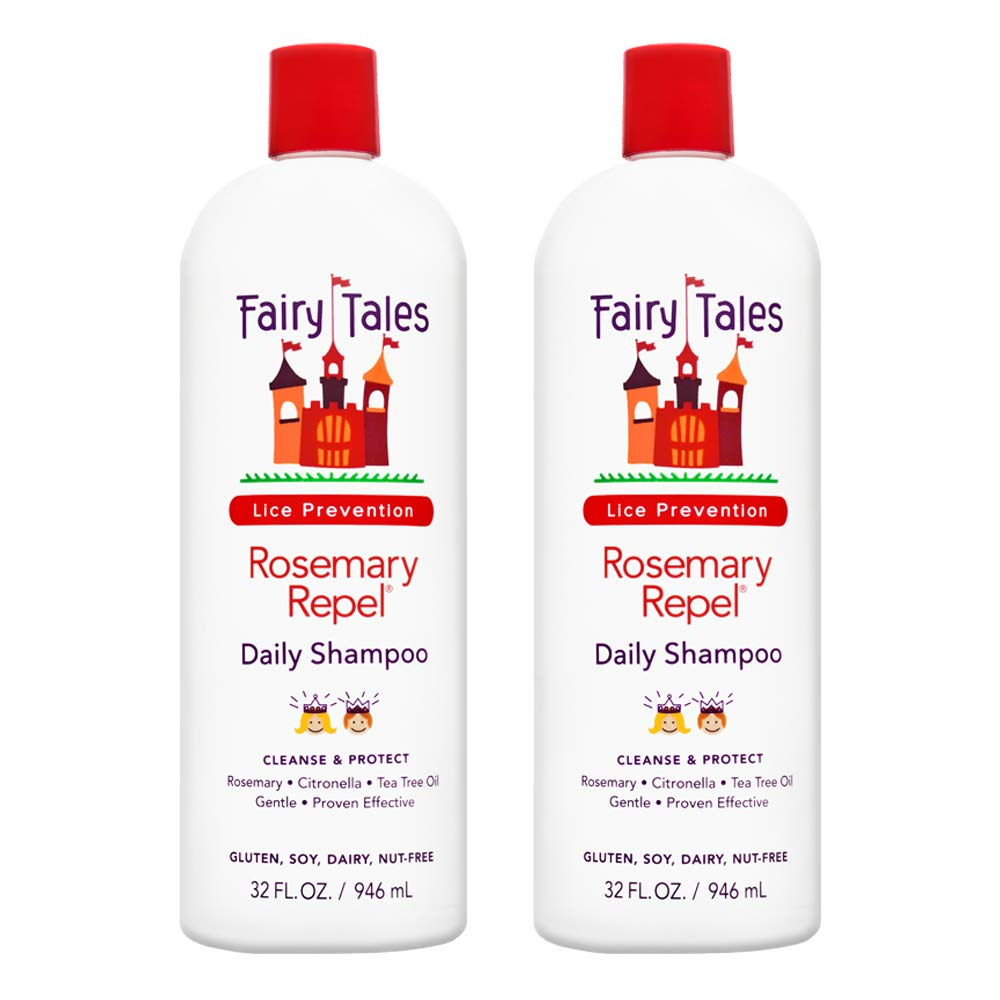 Fairy Tales Rosemary Repel Daily Kid Shampoo for Lice Prevention - 32 oz -2 Pack by Fairy Tales