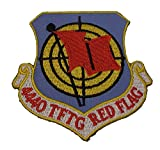 USAF 4440 Tactical Fighter Training Group TFTG Red Flag Patch - Veteran Owned Business