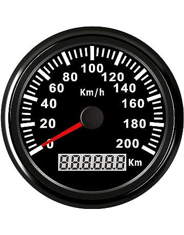 Velocímetro Inoxidable de GPS de Digitaces, Odómetro Auto Universal de GPS del Panel de Instrumentos