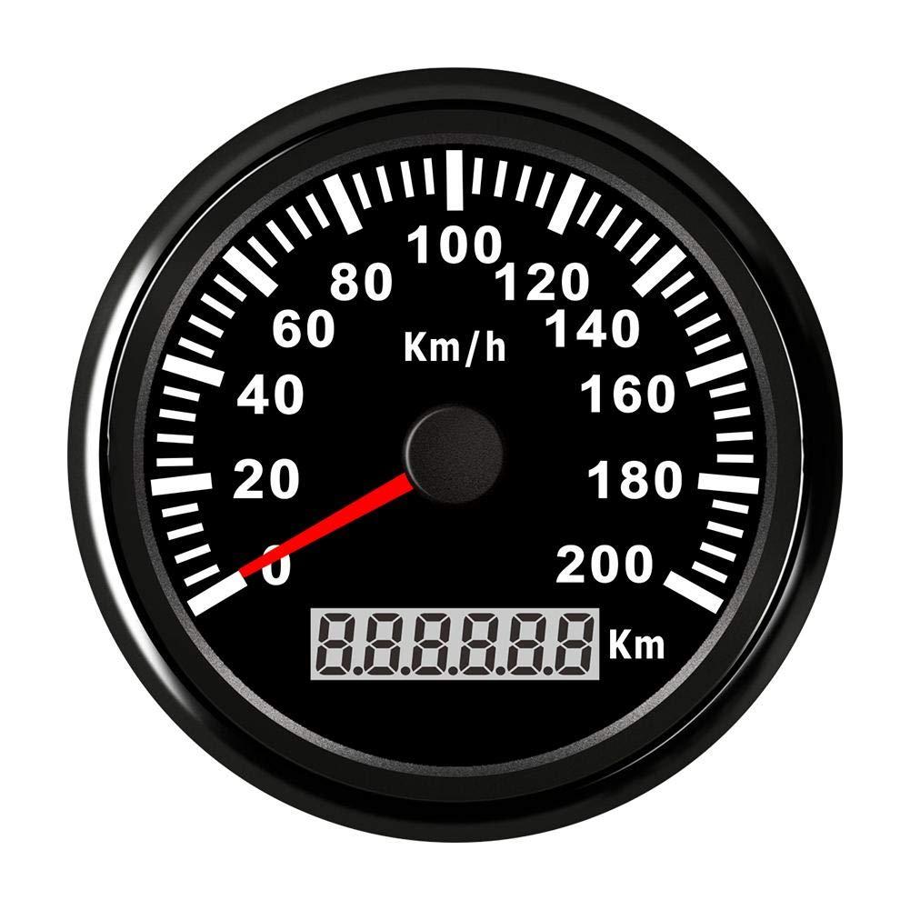 GPS Digital Kilometerz/ähler GPS Geschwindigkeitsmesser General Motors Truck Auto Ozean Schiff Automatische 85mm GPS Digital Kilometerz/ähler 200km h