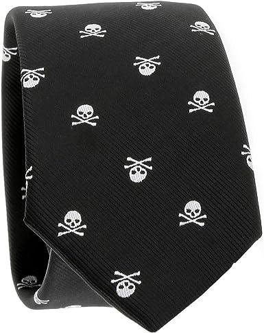 Cravate tête de mort 4