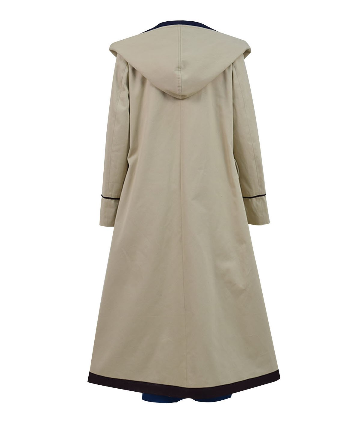 Very Last Shop Classic Sci-Fi TV Series 13th Doctor Costume Women Beige Trench Coat Overcoat (Beige Full Set, US Women-XXL) by Very Last Shop (Image #4)