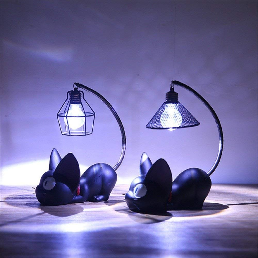 Lampe Ghibli Bande Miyazaki Veilleuse Pour Chat Wmwz Jiji La Des Led Décoration Studio Dessinée Maison Enfants D'anime De À wknO0P