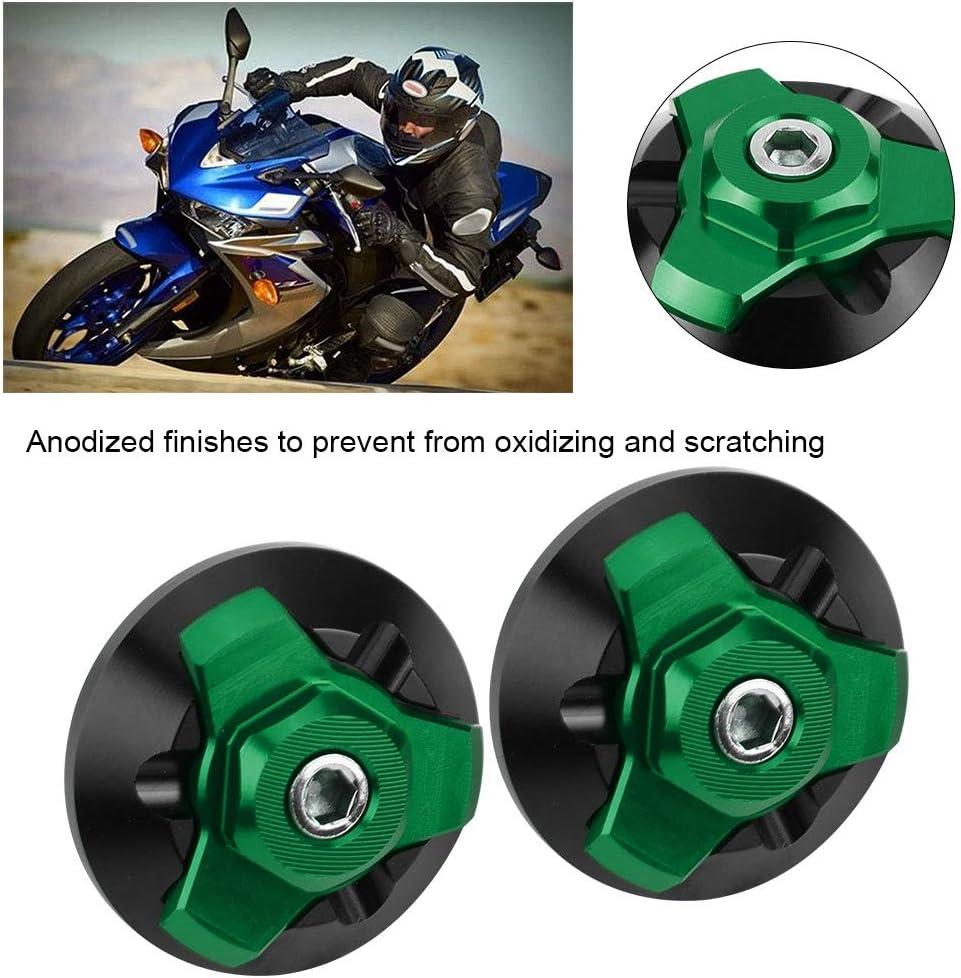 Motorrad CNC-Aluminiumrahmen-Lochkappen f/ür YZF-R3 2015-2019 Green Motorrad-Rahmen-Loch-Kappen-dekorative Abdeckung