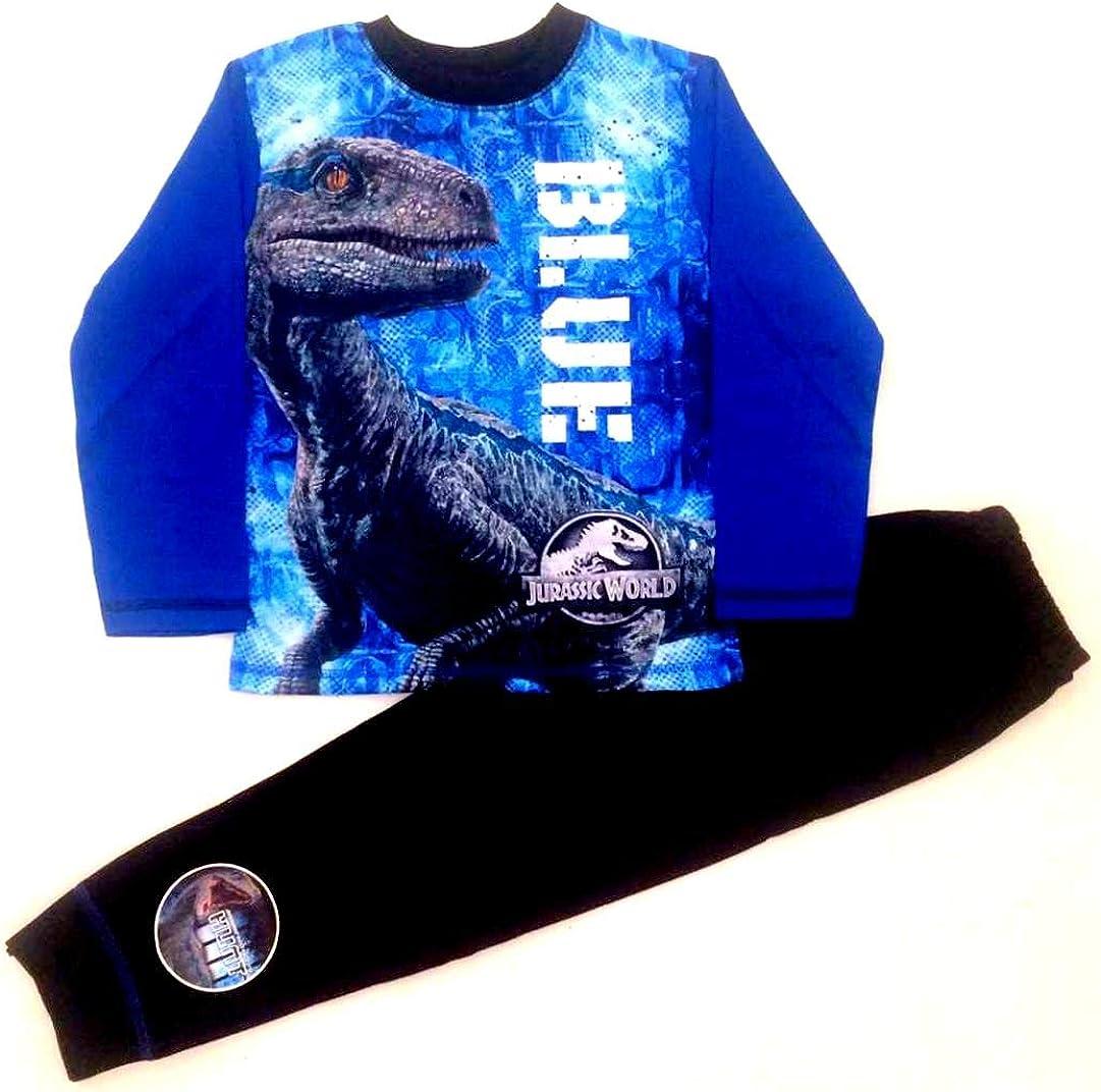 Licensed Jurassic World Boys Long Pyjamas