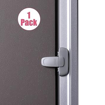 5x Kids Child Baby Safety Door Lock Proof Cupboard Fridge Cabinet Prevent Clamp