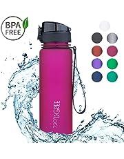720°DGREE Kinder Trinkflasche Auslaufsicher uberBottle | Wasserflasche, Sportflasche | Für Schule & Sport | BPA-Frei