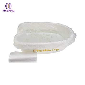 Amazon.com: healcity pie de plástico lavabo para Detox Spa ...