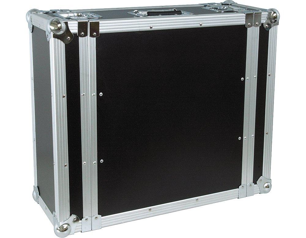 Musicians Gear Rack Flight Case 4 Spaces Black