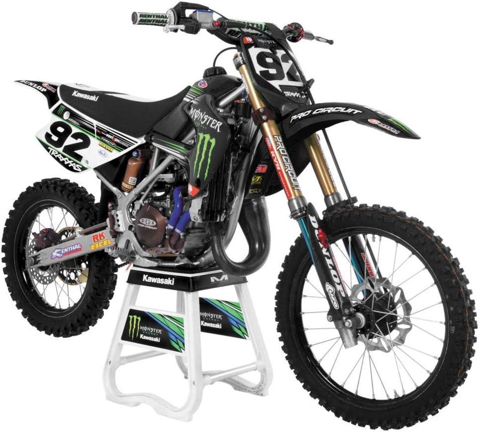 UFO Motocross Plastic Kit Kawasaki KX 85 1998-2000 Black KAKIT206E-001