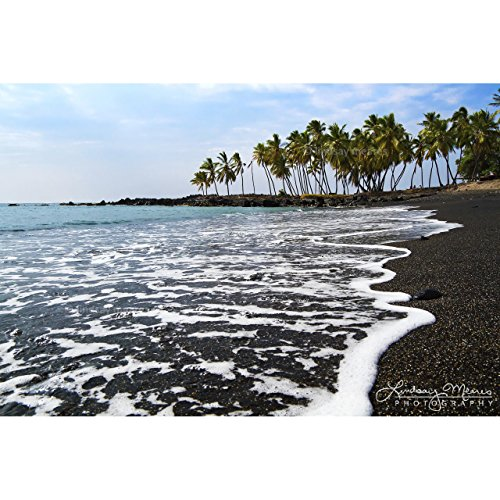 Hawaii Beach Photo ''Honomalino Bay'' by TravLin Photography, Multiple Sizes (5x7 to 24x36) by TravLin Photography
