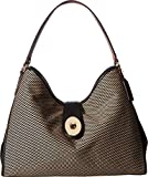 COACH Women's Madison Exploded Reps Carlyle Shoulder Bag Milk/Black One Size