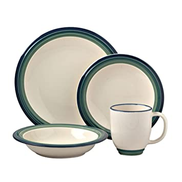 Amazon.com | Pfaltzgraff Ocean Breeze 16-Piece Dinnerware Set (Service for 4) Pfaltzgraff Dish Sets Dinnerware Sets  sc 1 st  Amazon.com & Amazon.com | Pfaltzgraff Ocean Breeze 16-Piece Dinnerware Set ...