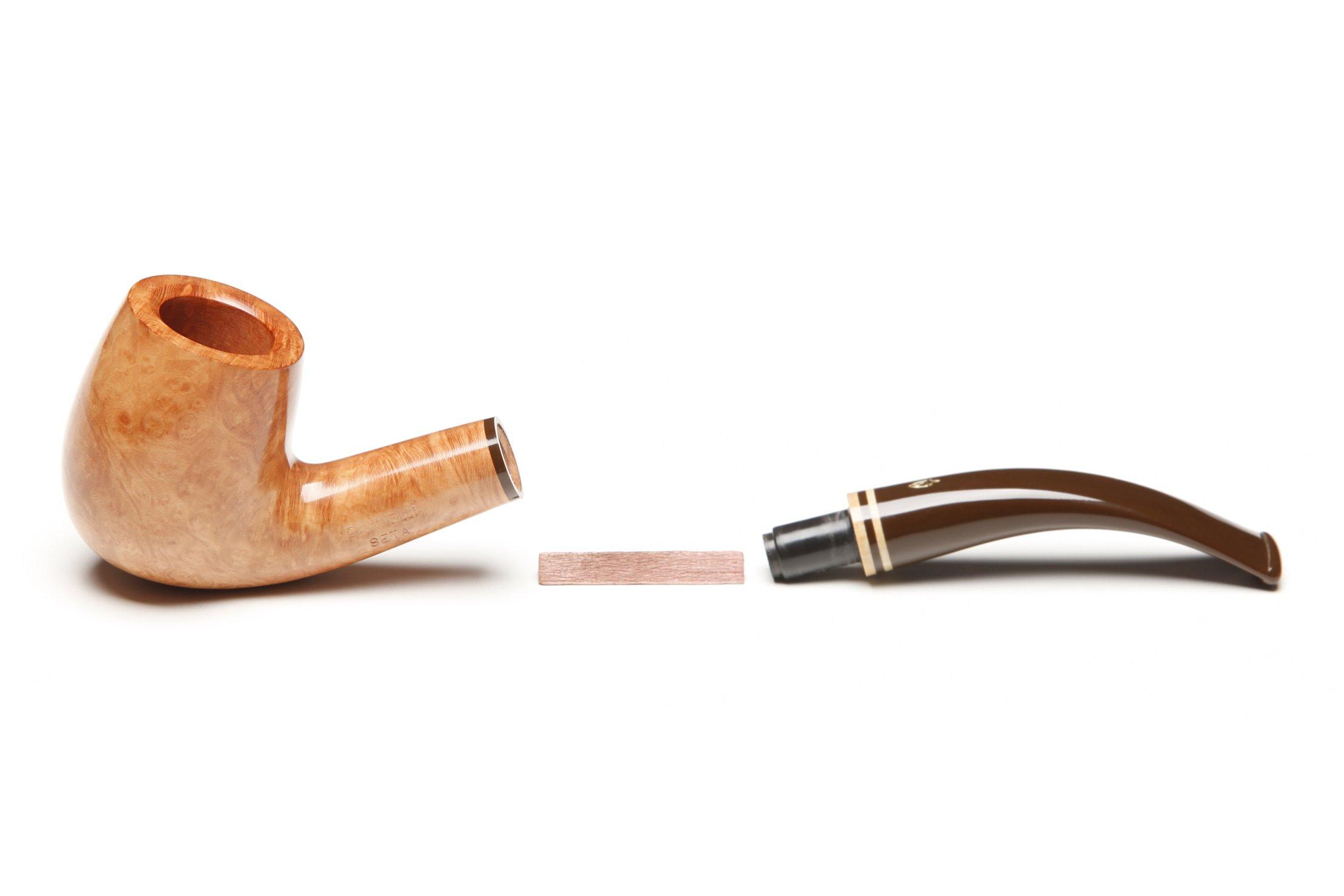Savinelli Seta Smooth 606 KS Natural Tobacco Pipe by Savinelli (Image #5)
