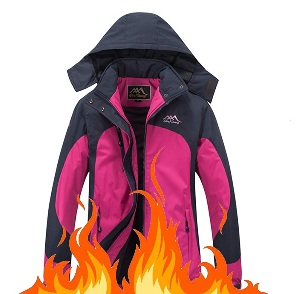 violet 3XL RSTJ-Sjcw Femme USB Batterie chauffée Softshell veste