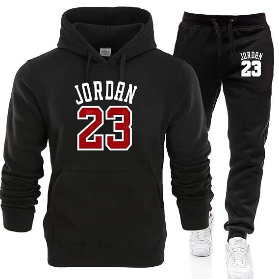 LJA Jordan 23 Ragazzi Felpe con Cappuccio Set  Amazon.it  Abbigliamento cb3296d4e7c9