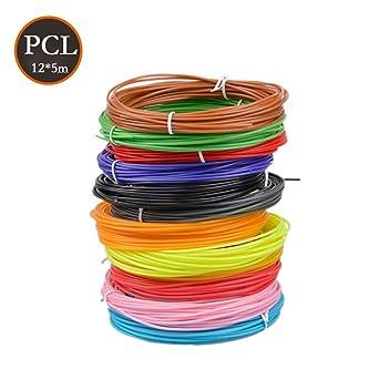 Filamento de pluma 3D PCL, Materiales de impresión 3D de filamento ...