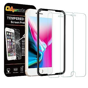 8ad78838ce Amazon | OAproda iPhone8 / 7 / 6 / 6s 用 ガラスフィルム 液晶保護強化 ...