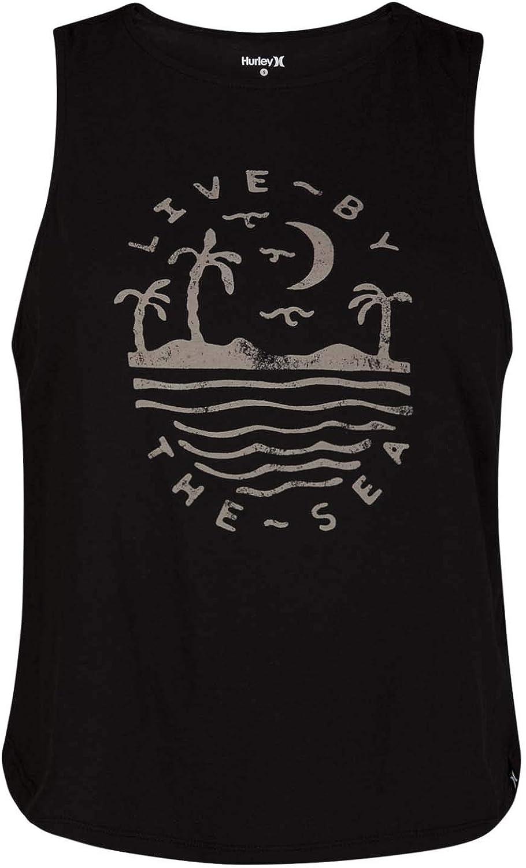 Hurley Womens Seaside Flouncy Tank Top