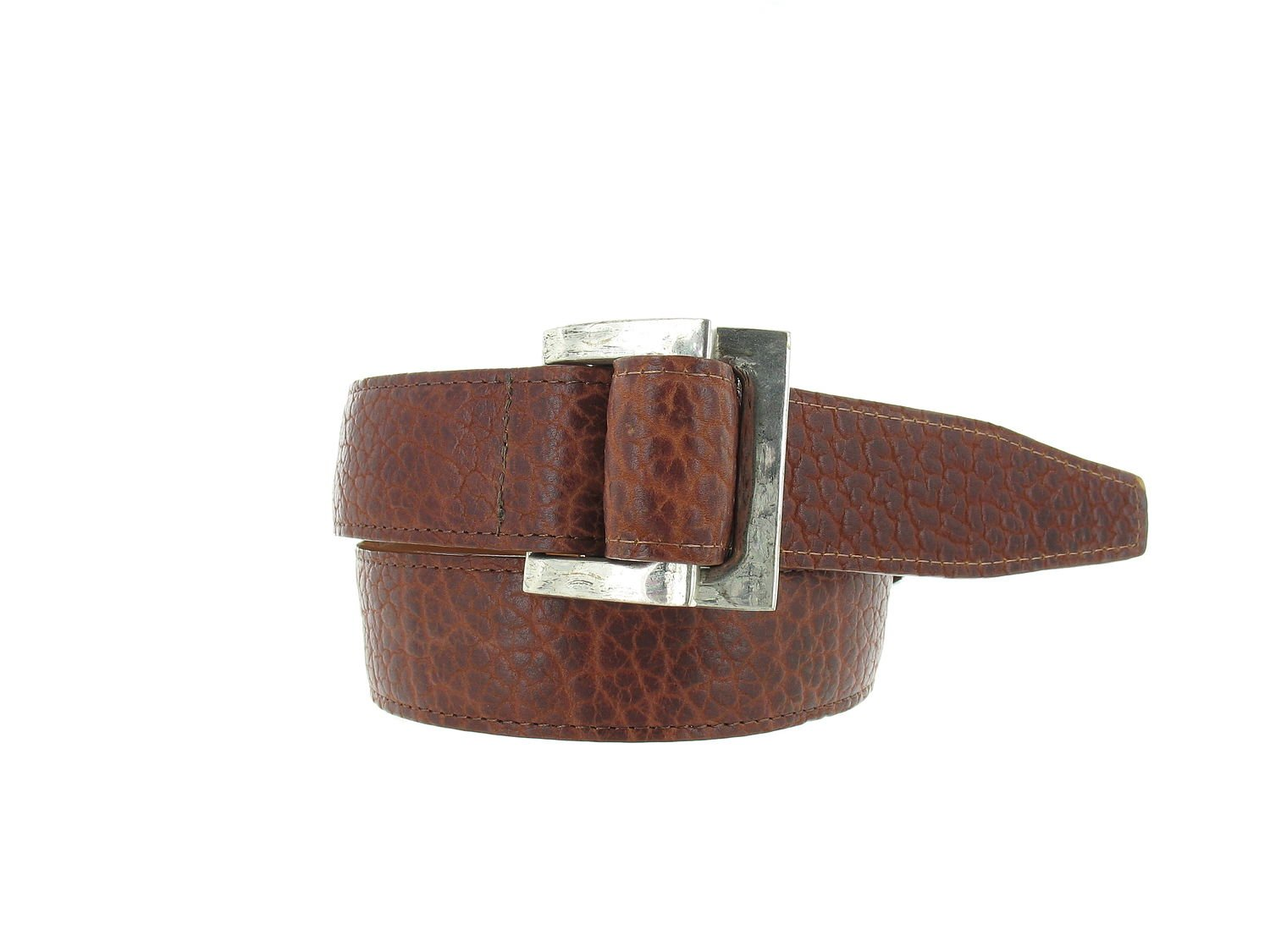 Trafalgar Men's Bison Belt With D Ring Buckle