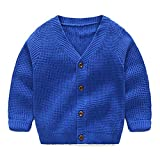 Product review for LittleSpring Little Boys Button Round Collar Knitwear