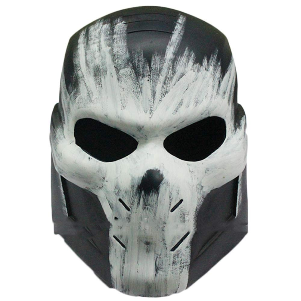 QQWE Crossbones Mask Marvel Captain America Rebell Charakter Helm Masken Film Cosplay Halloween Weihnachten Thema Party Performance Kostüm Requisiten,A-OneGröße