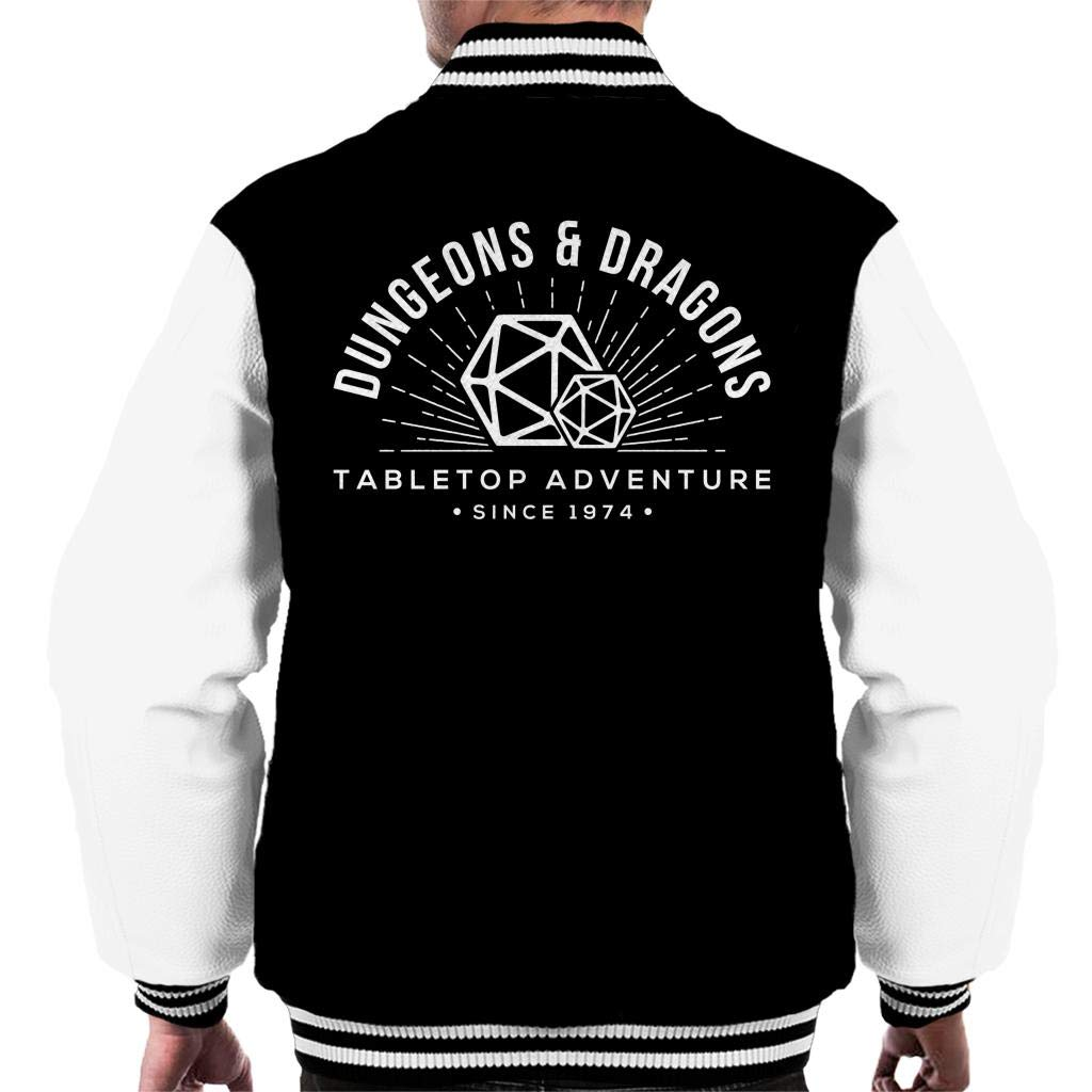 Dungeons and Dragons Adventures Since 1974 Men's Varsity Jacket