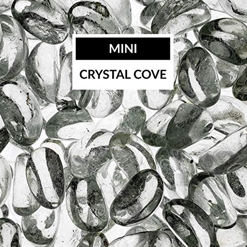 (Bond Manufacturing 67995 LavaGlass Mini Fire Pit Dispersion Glass, Crystal Cove )