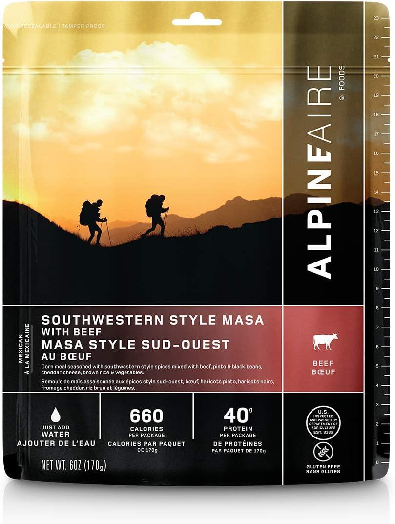 Alpine Southwest Style Masa with Beef