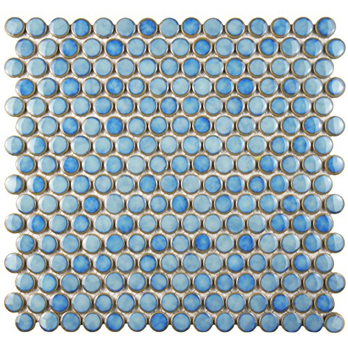 Penny Round Tile Amazoncom - Cheap penny round tile