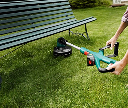 61z1uM3ljTL - Bosch ART 26-18 LI Cordless Grass Trimmer, Cutting Diameter 26 cm (Without Battery and Charger)