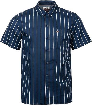 Tommy Jeans - Camisa de manga corta a rayas Twilight Navy XXL: Amazon.es: Ropa y accesorios