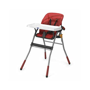 Chicco Jazzy Highchair Red Wave Great For Happy Snack Meal Amazon