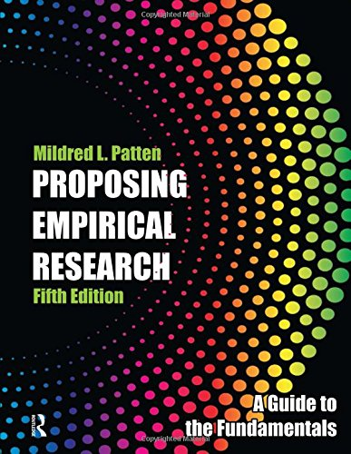 Proposing Empirical Research: A Guide to the Fundamentals PDF