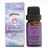 Yethious Lavender Essential Oil Blend 10ml 0.33oz 100% Pure Organic Therapeutic Grade Aromatherapy Gift Plant Oils for Diffuser