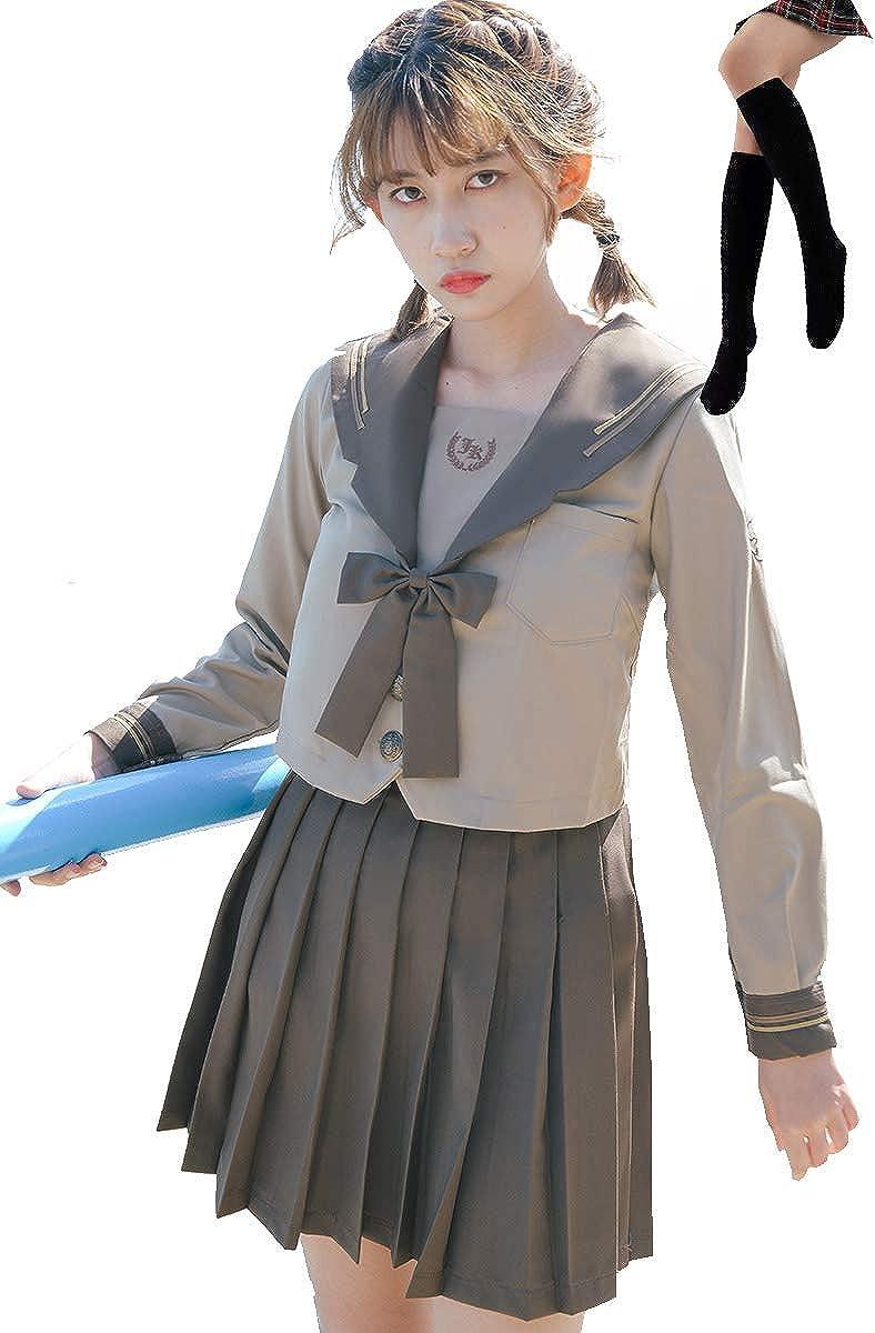 Girl/'s summer skirt Fashion Japanese School Girl Dress Sailor Uniform Anime 2021