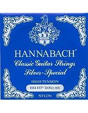 Hannabach 652534 Saiten für Klassikgitarre Seire 815 High Tension Silver Special - D4