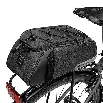 WERNG Bolso del Cuadro De La Bicicleta, 8L Impermeable Bolsa De ...